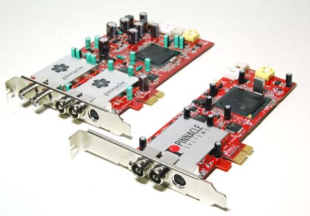 Photos of new PCI Express Pinnacle cards