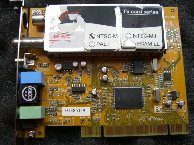 Driver saa7130 card analog tv