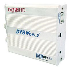 DVBWorld  HD2104C  Box